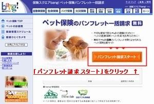 保険スクエアbang!「ペット保険資料請求」